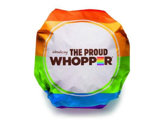 Burger King's Proud Whooper