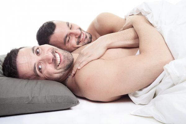 gay men having sex, gay couple