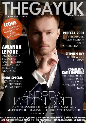 Andrew Hayden-Smith Magazine Cover