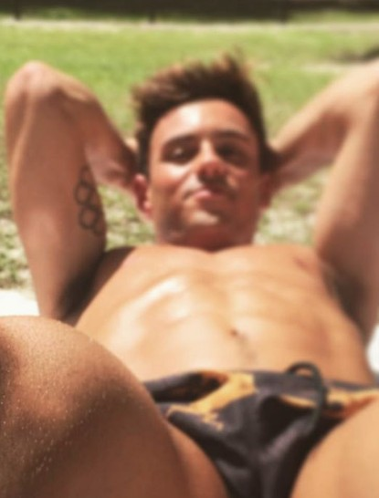Lance Black Naked 66