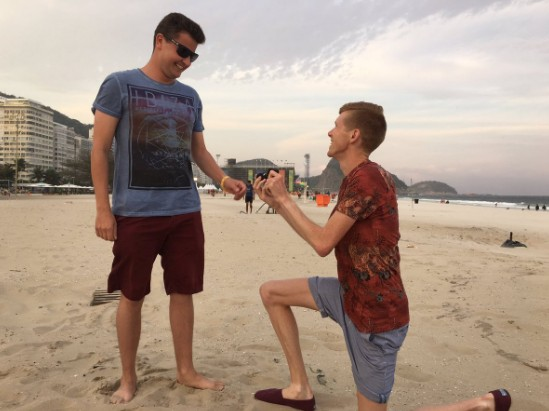 tom bosworth gets engaged