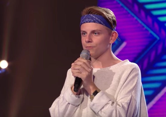 James Hughes X Factor