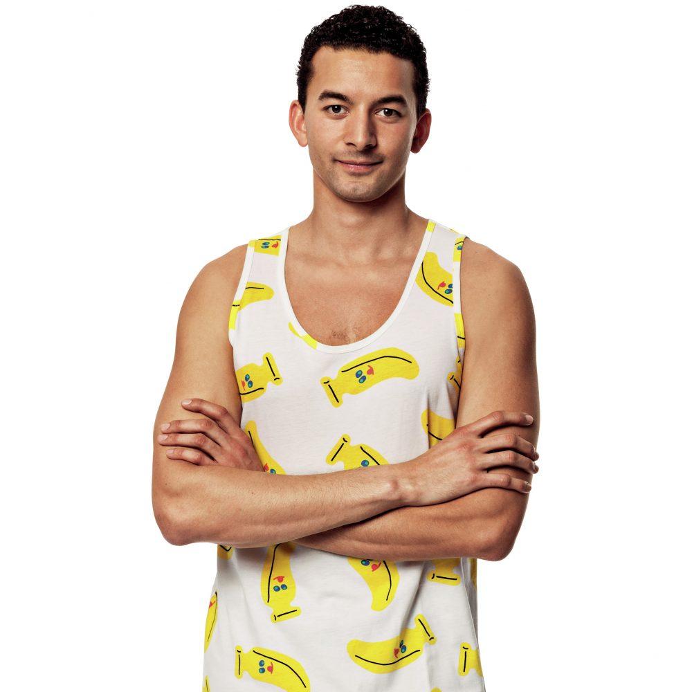 Cute Banana vest top