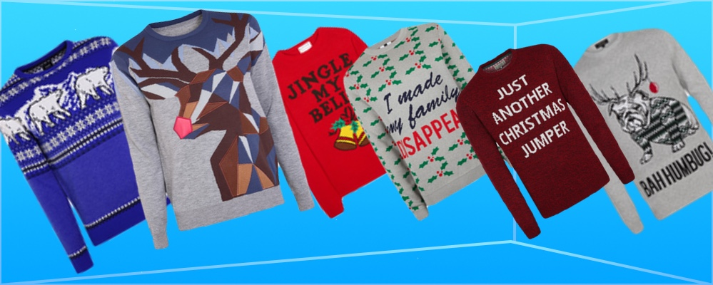 Top 10 campest Christmas Jumpers