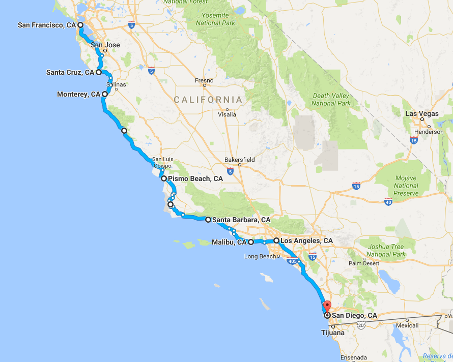 Big gay West Coast Road Trip
