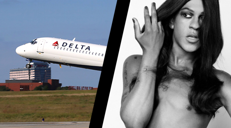 Delta passenger called the police on Mykki Blanco because he didn't like people like Mykki