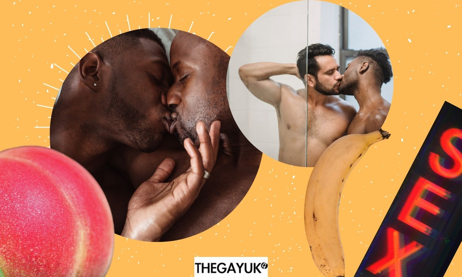 Places where gay men have said they've had sex