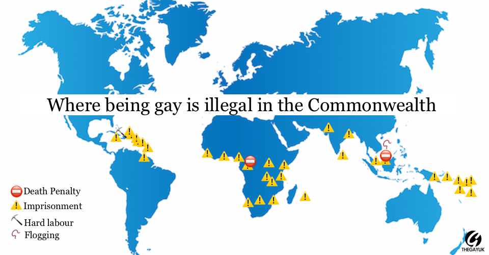 Here Are The Commonwealth Countries Where Being Gay Is Still A Crime  Thegayuk-2863
