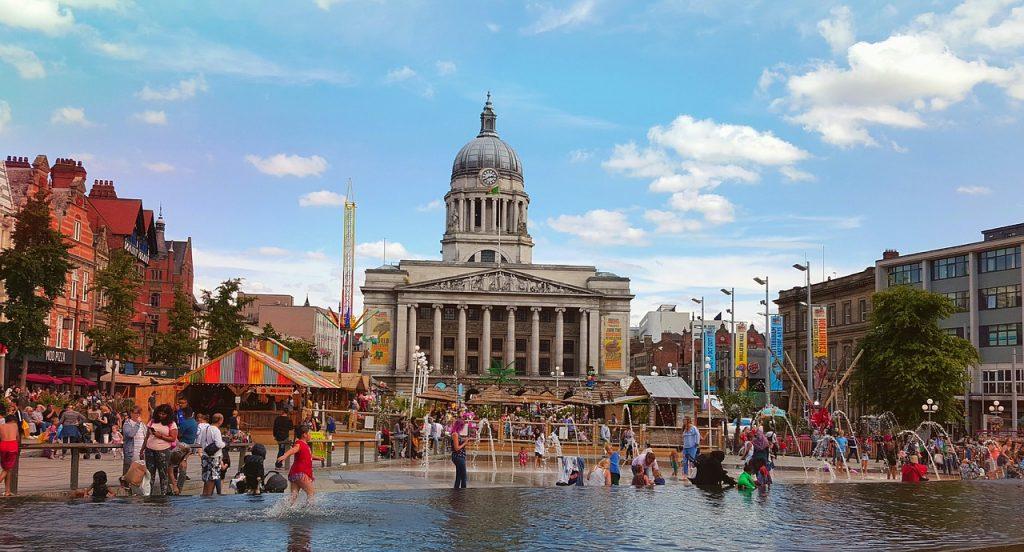 gay listings for the UK city of Nottingham