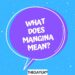 What does mangina mean?